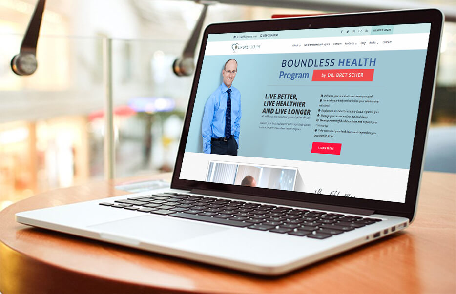 Website Design by Equity Web Solutions - Dr. Bret Scher