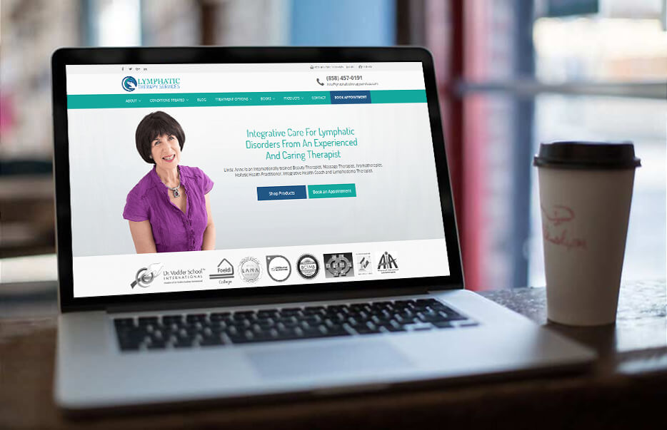 Website Design by Equity Web Solutions - Lymphatic Therapy Services